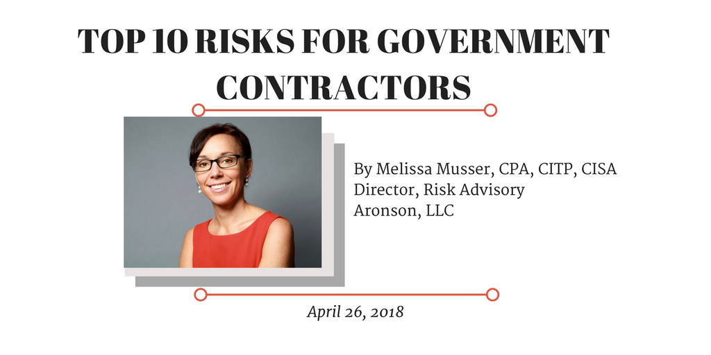 Top 10 Risks for Government Contractors